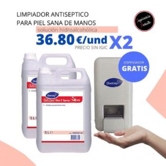 Limpiador Antiseptico para Manos