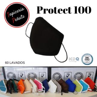 Mascarilla Reutilizable Protect 100 (60 LAVADOS)