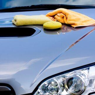Limpieza exterior de coche