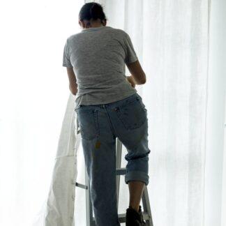 Montaje de cortina
