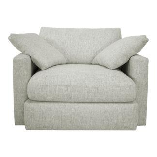 Tapizado de sillón de 1 plaza voluminoso
