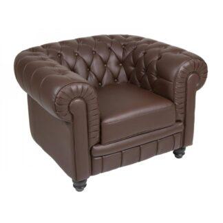 Tapizado de sillón de 1 plaza Capitone
