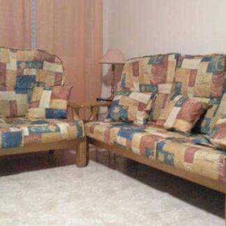 Fabricación de sofá de madera 3+2 / 3+1+1